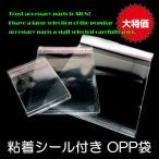 包装資材 粘着シール付き OPP袋 ビニール袋 約60×40mm 10枚セット パワーストーン ハンドメイド アクセサリー
