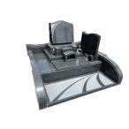 平和 洋型墓石セット 敷地6尺角