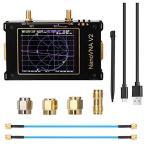 Kinbelle Nanovna SAA-V2ベクトルネットワークアナライザ10KHz~3GHz HF VHF UHF 3.2インチケース付き アンテナアナライザ タッチスクリーン 測定デュプレクサ フ