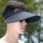 帽子 UVカットメンズ つば広ハット 農作業  日よけ 春