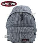 イーストパック バッグ EK62066E Stripetype Black ロゴストライプブラック リュック PADDED バッグパック 男女兼用 EASTPAK ag-603300