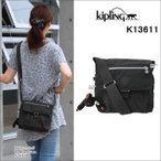 Kipling キプリング バッグ ショルダー K13611 Basic かぶせスクエア New Raisin ミニ ポシェット メッセンジャー モンキー ag-857600