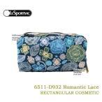 レスポートサック ポーチ 6511 D932 Romantic Lace レクタンギュラーコスメティックポーチ RECTANGULAR COSMETIC 化粧ポーチ LeSportsac レスポ ag-908500