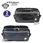ショッピングオロビアンコ オロビアンコ orobianco バッグ  GIACOMINO ジャコミノ PL TEK-F 01 ウエストバッグ ボディバッグ レザー リモンタナイロン ag-954600