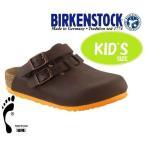 あすつく商品 BIRKENSTCK ビルケンシュトック 靴  ビルケン キッズ KAY カイ ブラウン1000386 子ども用 ボストン