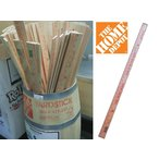 THE HOME DEPOT 36 in. Old Time Wooden Yardstickヤードスティック ルーラーRuler定規ものさし ザ ホームデポ アメリカン雑貨 あすつく商品