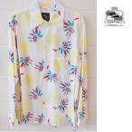 あすつく商品 kona bay hawaii コナベイハワイ オリジナル 長袖 アロハシャツ ランドオブアロハLand Of Aloha ブルー