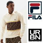 あすつく FILAフィラ x URBAN OUTFITTERS アーバンアウトフィッターズ モノグラム ラガーシャツ USA企画 UO 90年代 90's