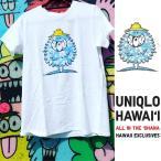 あすつく商品 ハワイ限定 UNIQLO UT ユニクロ レディースTシャツFEEL HAWAII GRAPHIC SHORT SLEEVE SHIRT