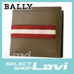 バリー BALLY TYE 699 6214887 メンズ バリーストライプ 小銭入れ付 二つ折り財布 ラッピング無料
