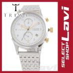 ショッピングラッピング無料 トリワ 腕時計 Lansen Chrono ランセン クロノ アイボリー   LCST106.BR021212 ラッピング無料