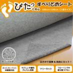ラグ ラグマット 2畳花形ドットが滑り止め効果をさらにUPさせる フリーカット&不織布の滑り止めシート 約180cm×180cm ラグ カーペット対応