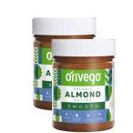 【北欧産、オーガニック、ビーガン】Orivego(オリヴェゴ)〜希少な高品質ピーナッツ、アーモンド、へーゼルナッツバター 〜 Orivegoは砂糖、保