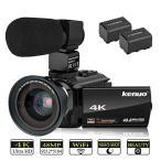 ビデオカメラ 4k デジタルビデオカ�