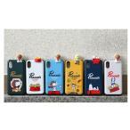 スヌーピー チャーリーブラウン iPhoneケース iphone ギャラクシー スマホケース カバー ワイヤレス充電 カード入れ 定期入れ ピーナッツ 犬 動物 携帯ケース
