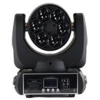 舞台照明 LED CREE/RGBW4in1/6×12Wムービングヘッド/mini BeeEyesライト/業務用/会場/演出/照明/ホール/イベント