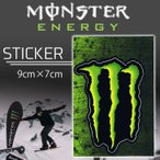 ����200�߲�ǽ MONSTER ENERGY(��󥹥������ʥ���) ���������� STICKER D-4 �ץ��ȥ��ƥå��� ������ �����ƥå��� ��9cm����7cm