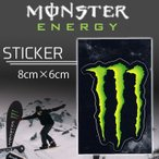 ����100�߲�ǽ MONSTER ENERGY(��������ʥ���) ���������� STICKER E-4 �ץ��ȥ��ƥå��� ������ �����ƥå��� ��8cm����6cm