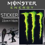 ����200�߲�ǽ MONSTER ENERGY(��������ʥ���) ���������� STICKER E-1 �ץ��ȥ��ƥå��� ������ �����ƥå��� ��22cm����16cm