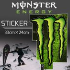 MONSTER ENERGY(��󥹥������ʥ���) ���������� STICKER D-1 �ץ��ȥ��ƥå��� ������ �����ƥå��� ��33cm����24cm
