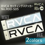 RVCA ルーカ  品番 R00-S05 カッティングステッカ- WHT ホワイト