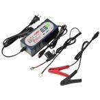 バッテリー充電器 バイク・自動車兼用 トリクル充電/サルフェーション解消機能付き STRAIGHT/17-114 (STRAIGHT/ストレート)