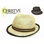 ☆【春夏】【涼しげ】【送料無料】CHRISTYS'CROWN【クリスティーズクラウン】CCS1117 TITO G 10749 中折れハット 【レディース】 【メンズ】