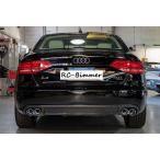 Audi アウディ B8 A4/S4用 S4 スポーツタイプ カーボンディフューザー