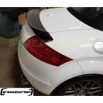 AUDI アウディ TT TTS 8J MK2 電動ウイング装着車両 用 リアカーボントランクスポイラー リアウイング