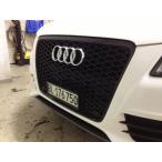 Audi アウディ A4 S4 B8 K8 前期用 RSタイプ ハニカム ブラックセンターグリル /PTS有