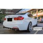 BMW 3シリーズ F30 F31 Mスポ 用 パフォーマンスタイプ カーボンディフューザー 左右4本出 綾織 クロスカーボン