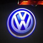 VW フォルクスワーゲン ロゴカーテシーランプ ウェルカムランプ