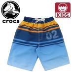 クロックス子供用水着海水パンツジュニアキッズサーフパンツCROCS128142子供用 子ども用 キッズ用 KIDS水着キャンプ 海 プール 海水浴 旅行
