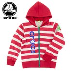 crocs 145156 キッズ パーカー ジップアップ クロックス ジュニア 子供服 スウェット 裏起毛 PARKA