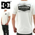 DC SHOES(ディーシー) バックプリント MOTION TEE 「5126J706 WHT」ホワイト 半袖 半袖 ティーシャツ 白x黒 ネコポス 国内正規品 365日発送 即日出荷