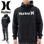 「セール」Hurley ジップアップパーカー ハーレー 黒ブラック カッコイイ おしゃれ 人気 ブランド サーフブランド 定番 即納 販売 通販