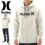 「セール」Hurley ジップアップパーカー ハーレー ハイネック  白オフホワイト
