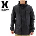 「セール」HURLEY ウィンドブレーカー 黒ブラック ジャケットハーレー パーカー 黒色 BLACK SURF マウンテンパーカー マンパー ECWCS 通販 販売 即納