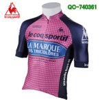 ルコック サイクルウェア メンズ サイクルジャージ 半袖シャツ Lecoq 自転車 QC-740361