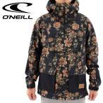 ONEILL スノボーウェア プルオーバー スノージャケット オニール メンズジャケット スノーウェア 645106 フラワー 通販 販売 即納 人気 スノーボードジャケット