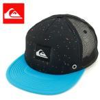 「セール」 QUIKSILVER(クイックシルバー) メッシュキャップ「BMJ6」帽子 黒 SNAPBACK CAP BLK 人気 流行 フラットバイザー 平つば ストリートファッション