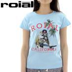 「セール」半袖Tシャツ ROIAL カットソー レディース Tシャツ ロイアル 丸首 クルーネック GTS246