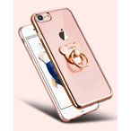 Yahoo!ストレスフリーiPhoneケース お得でカワイイ!クマのリング付き (1) 送料無料 iPhone7 iPhone8 対応 オシャレスマホケース スマホカバー リングスタンド 落下防止リング