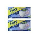 フィッティFITTY 7daysマスクEXプラス 60枚入りやや大きめサイズ 2個セット