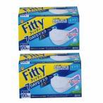 フィッティ FITTY 7DAYS EXプラス ふつう 60枚 ホワイト 2箱セット