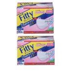 フィッティ FITTY 7DAYS EXプラス やや小さめ 60枚 ホワイト 2箱セット