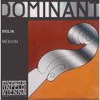 E線ドミナントアルミ巻ボール+AD銀巻G線:4弦セット4/4楽器用
