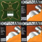 E線ゴールドブロカットプレミアム24金+ドミナント(AD銀巻G):4弦セット 4/4バイオリン用
