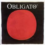Violin弦 Obligato 4/4楽器用 E線 Gold Chrome Steel 2本 (Ball or Loop)  【Vn Obligato Eg 2pc.】