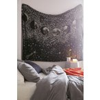 Urban Outfitters/アーバンアウトフィッターズ Stardust Glow-In-The-Dark Tapestry タペストリー